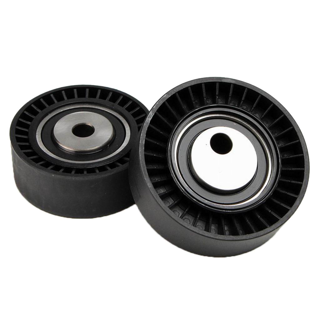 1 par de correa tensor de ruedas de polea para BMW E36 E46 E39 M3 M6 M5 325i 325xi