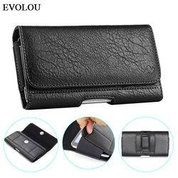Saco da cintura magnético telefone capa para iphone se 4.7 universal 2020 universal bolsa carteira de couro caso para iphone 11 pro max xr xs 6 s 7 8