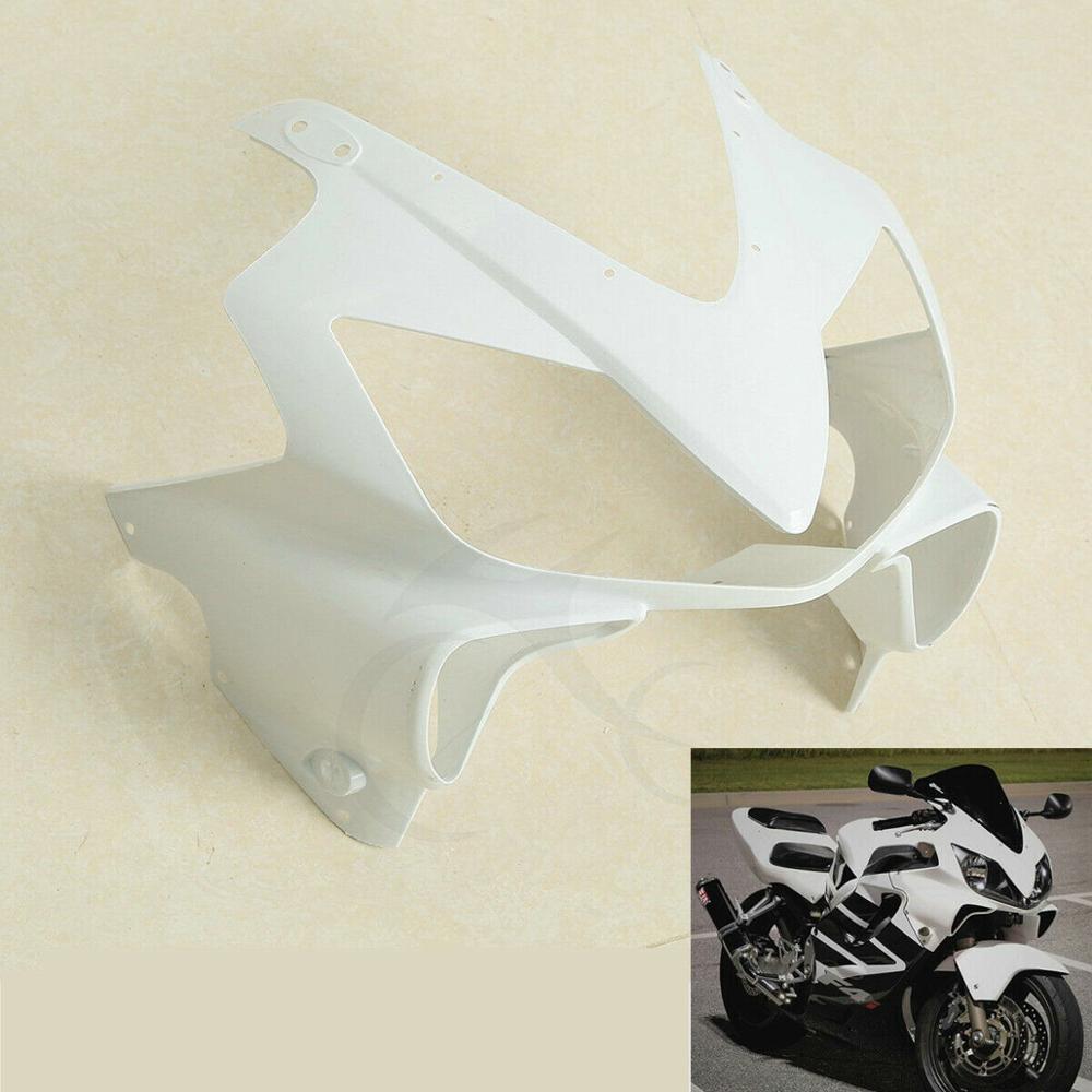 Фото - Motorcycle Unpainted Upper Front Fairing Cowl For HONDA CBR600 F4I 2001-2008 2002 2003 2004 2005 2006 2007 for honda cb900 cb919f hornet900 2002