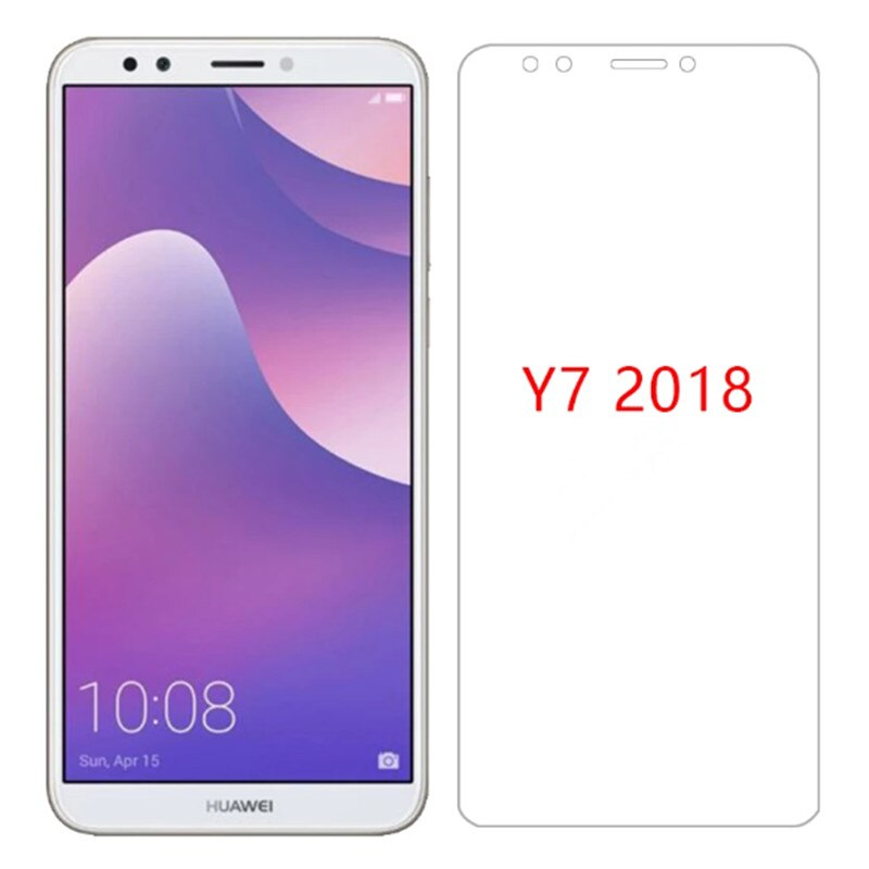 3Pcs 9H Tempered Glass For Huawei Y7 2018 y7 prime 2018 Safety Screen Protector Protective Glass on Huawei y7 pro y7 2018 Film
