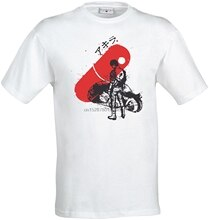 T Shirt Komik Akira Kaneda Kırmızı Hap Sanat Anime Manga 3D Baskılı T Shirt Yüksek Kaliteli Kısa Kollu Tees