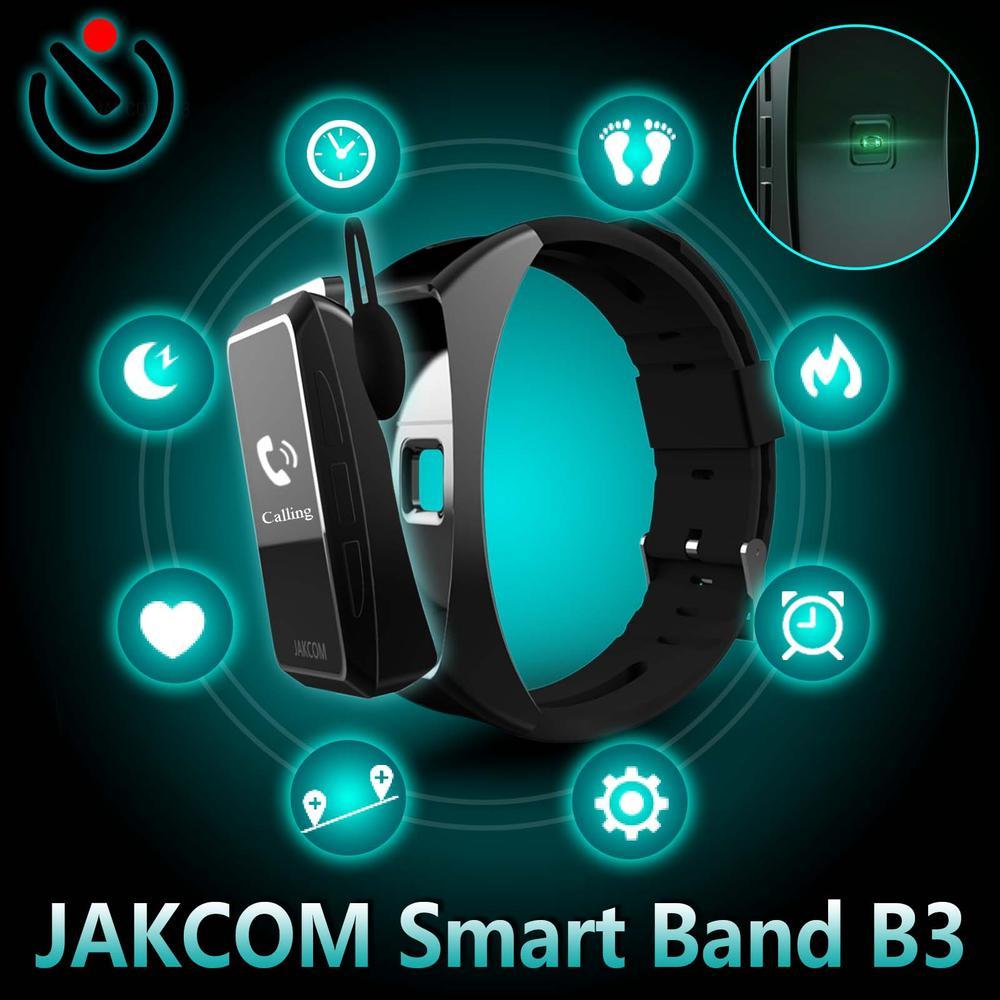 JAKCOM B3 Smart Watch New product as watch kids smart 4g gps body temperature band 5 realme pulseira smatch air