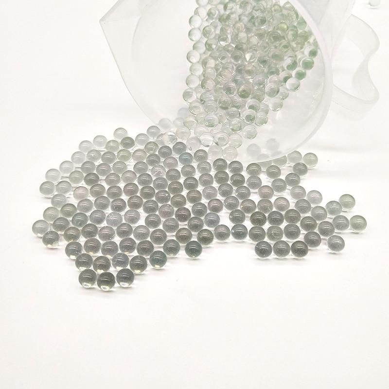 Стеклянные шарики 1000 шт./упаковка, Высокоточные лабораторные стеклянные бусины для дистилляции, используемые для предотвращения закипания...