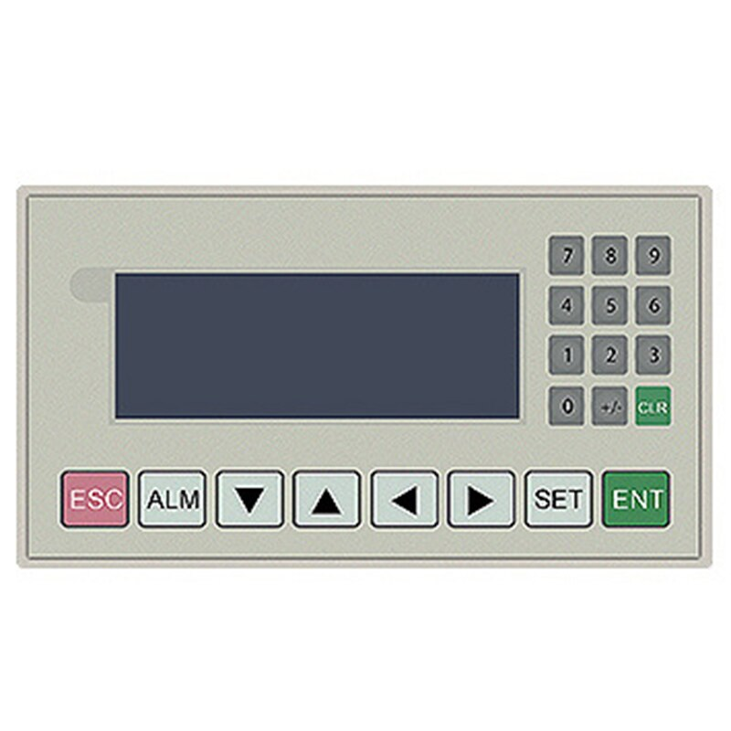 OP320-A V8.0Q MD204L Pantalla de texto de 4,3 pulgadas HMI soporte 232 485 puertos de comunicación nueva oferta OP320-A-S (pantalla amarillo-verde)