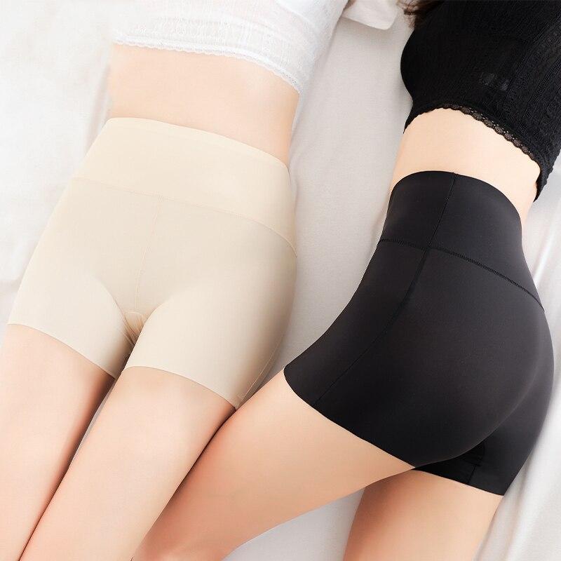 WLSD женские шорты безопасности штаны Бесшовные Нейлоновые Трусики с высокой талией бесшовные шорты для мальчиков Нижнее белье для похудения для девочек