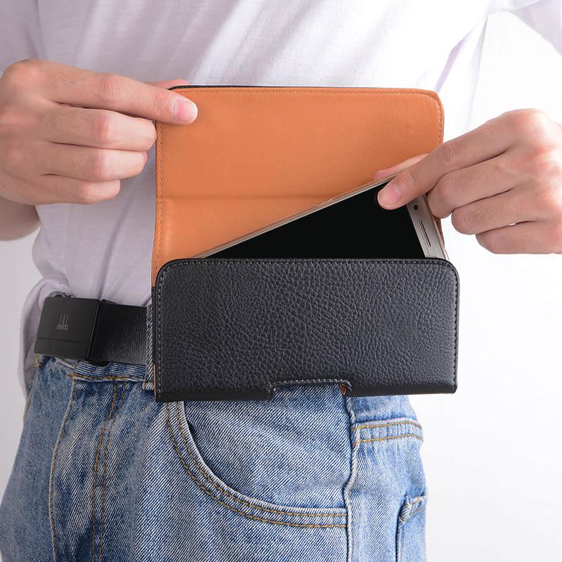 Для xiaomi redmi note 8 T чехол для redmi note 8 T поясная сумка Мужская кобура висячая надежная Противоударная кожаная сумка для ремня