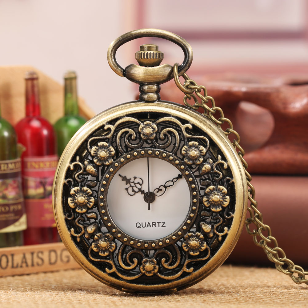 Кварцевые карманные часы Metro, Модные полые карманные часы, винтажные карманные часы, подвеска, ожерелье, лучший подарок для мужчин и женщин