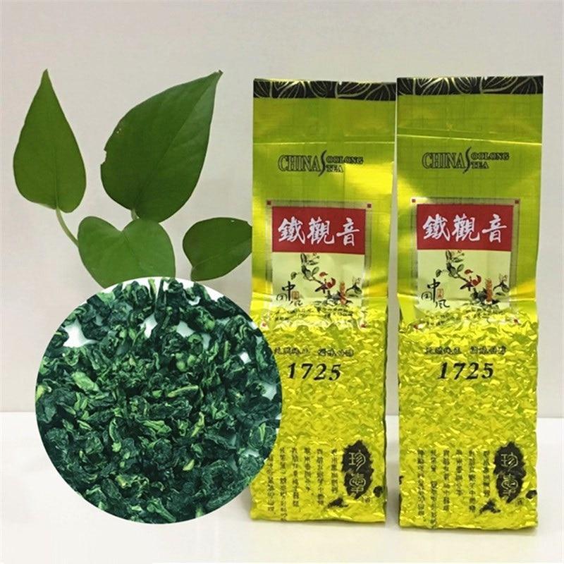 2021 Anxi التعادل غوان يين الشاي 1725 متفوقة شاي الألونج الشاي العضوي tiager anyin 250 جرام/الحقيبة الصين الغذاء الأخضر لتخفيف الوزن الرعاية الصحية