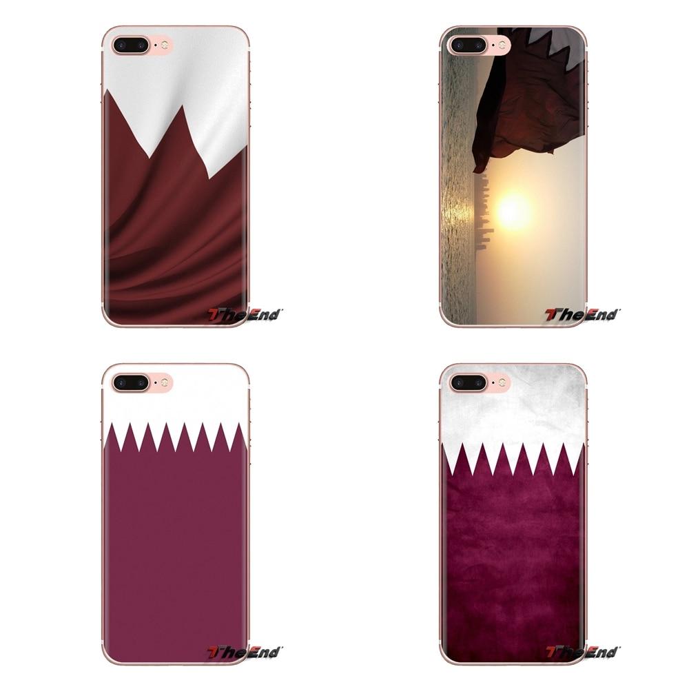 Funda transparente para bolsa de TPU bandera nacional de Qatar para Xiaomi mi 4 mi 5 mi 5S mi 6 mi A1 a2 5X6X8 9 Lite SE Pro mi Max mi x 2 3 2S