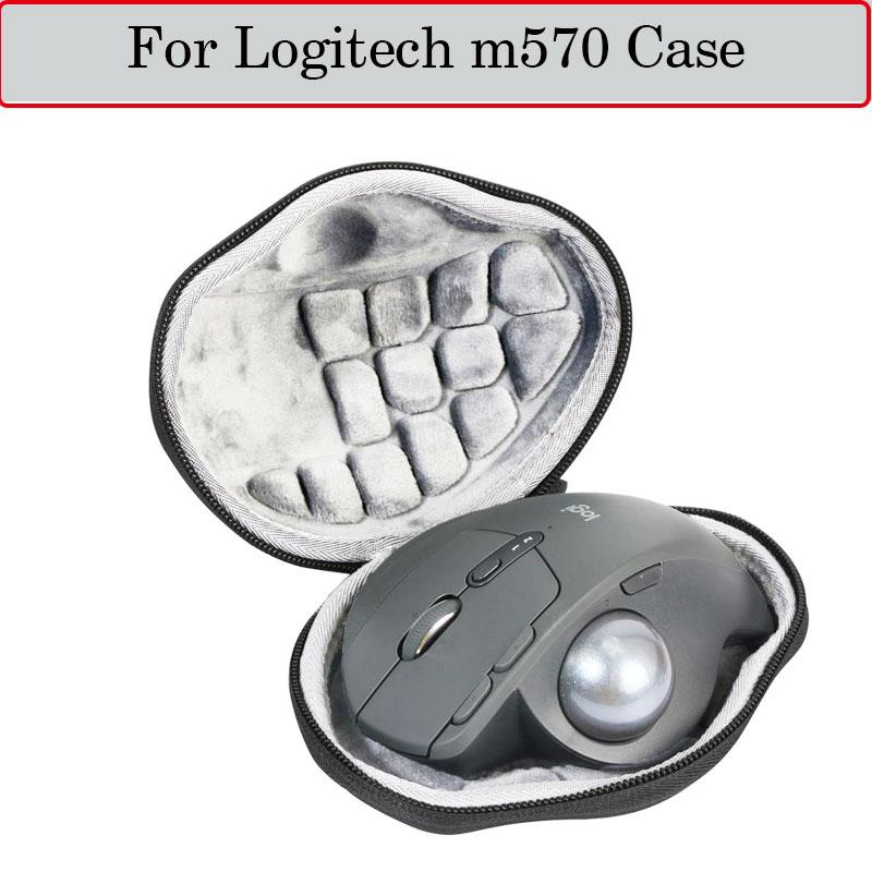 Новейший Жесткий Чехол для Logitech m570 Advanced Wireless Trackball, чехол для мыши, защитный футляр для путешествий EVA