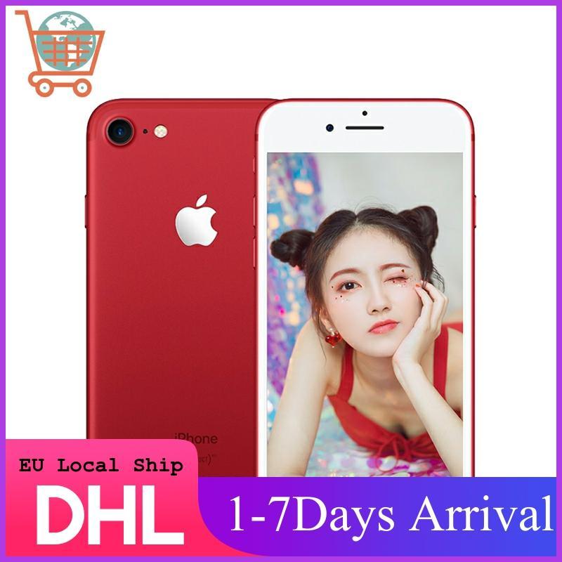 EU Local Fast Shipment Apple iPhone 7 4G LTE Smartphone 32/128GB/256GB IOS Mobile Phone Quad-Core Fingerprint 12MP Camera
