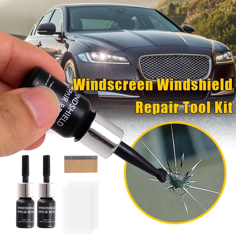 Vidrio automotriz Nano reparación líquido Ventana de coche vidrio grieta Reparación de chips herramienta Kit herramienta de reparación de parabrisas