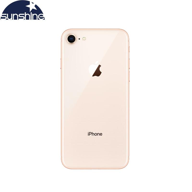 "Review Original Apple IPhone 8 2GB RAM 64GB/256GB LTE 12.0MP Camera 4.7 ""Inch Apple Fingerprint hexa-core IOS 3D Touch ID Smartphone"