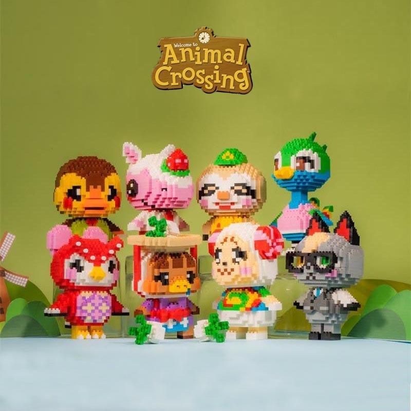 AliExpress - 22 styles Game Animal Crossing Owl Bird Blathers 3D Model DIY Small Mini Diamond Blocks Bricks Building Toy for Children Gift