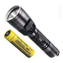 NITECORE CB6 Flashlight +3400mAh 18650 Rechargeable Battery NL1834 CREE LED Chip Outdoor Camping Hun