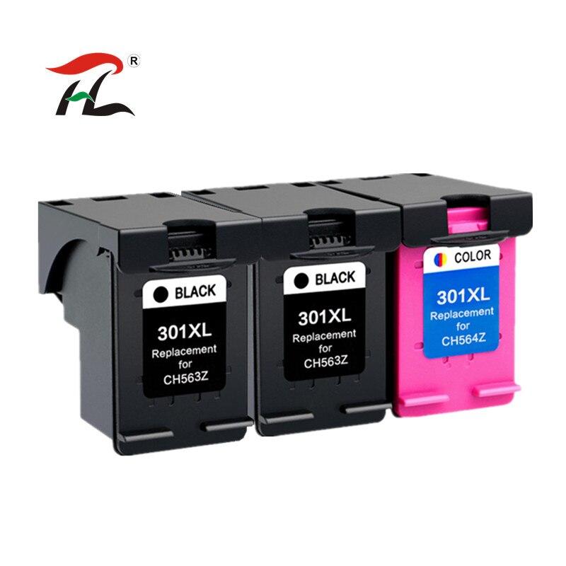 301XL Compatible para hp 301XL Cartuchos de tinta para hp 301 para hp 301 Deskjet serie 1000 de 1010 de 1050 1050A 2510, 2514, 2540, 2542, 2547 impresora