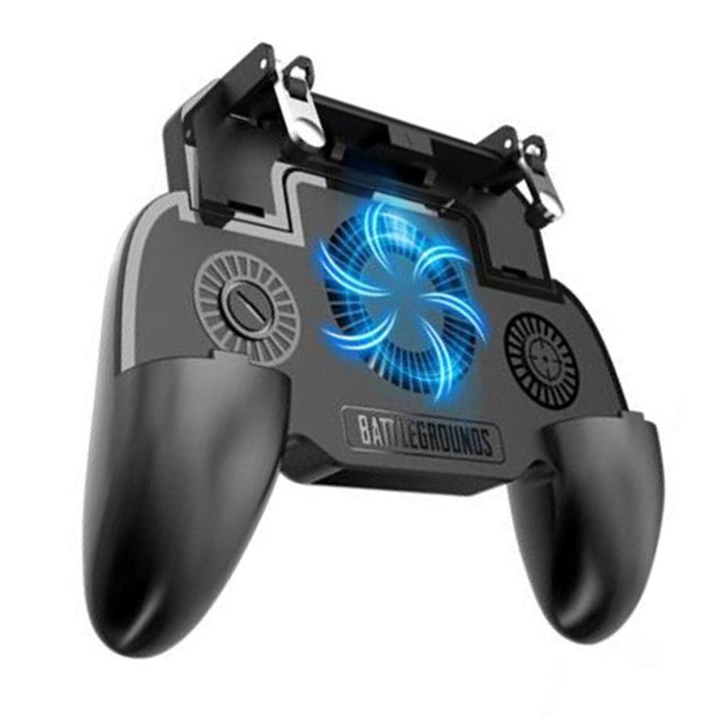 2019 nuevo controlador de juego Gamepad Mobile Trigger L1R1 controlador de juego de disparos soporte de teléfono móvil para Pubg