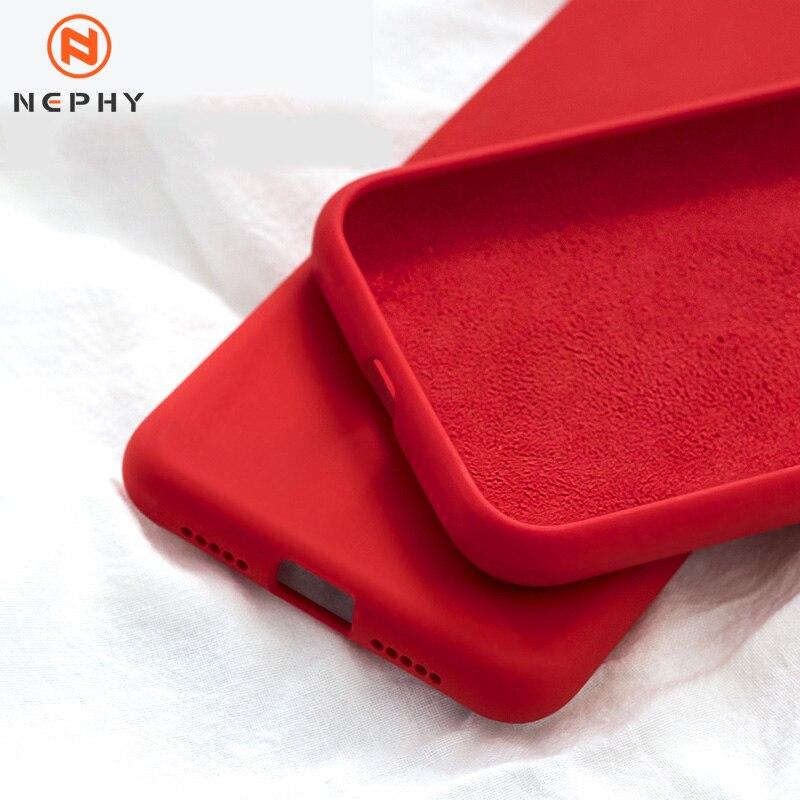 Funda de silicona líquida de lujo para Huawei P10 P20 P30 Lite Plus Pro Honor 9 10 V10 V20 Mate 20 a prueba de golpes