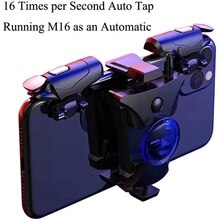 Mobile Phone Trigger Mobile Game Controller Portable Foldable Pressure Fast Shot Compatible with iPh