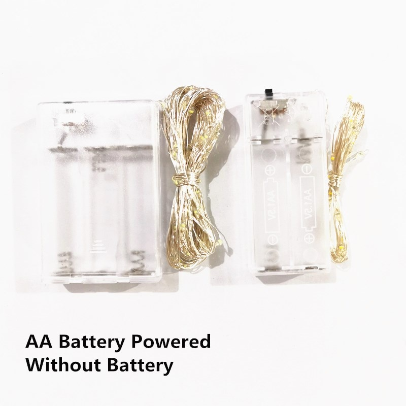 Decor de Crăciun USB ghirlandă alimentată cu baterie 1 ~ 10m - Luminări festive - Fotografie 4