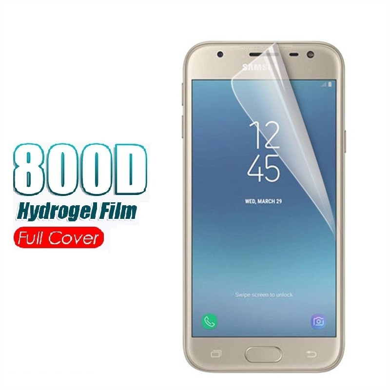 Hydrogel Film For Samsung Galaxy A5 2015 A500F 2016 A510F 2017 A520F Screen Protector Shield Protective Film 9H Not Glass