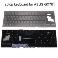 turkey thai replacement keyboards for asus rog zephyrus s17 gx701 gx gx701gv gx701lws xs76 gaming keyboard 0kn1 661tu11 661ta11