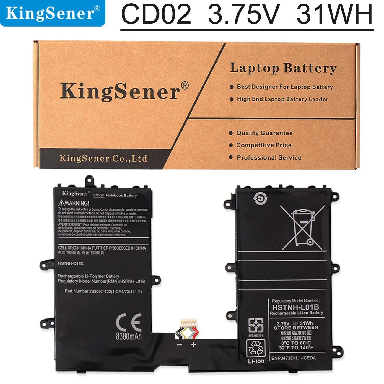 KingSener 3.75V 31WH CD02 Laptop Battery for HP Pro 610 G1 Omni10 Tablet HSTNN-Q12C HSTNN-L01B 74047