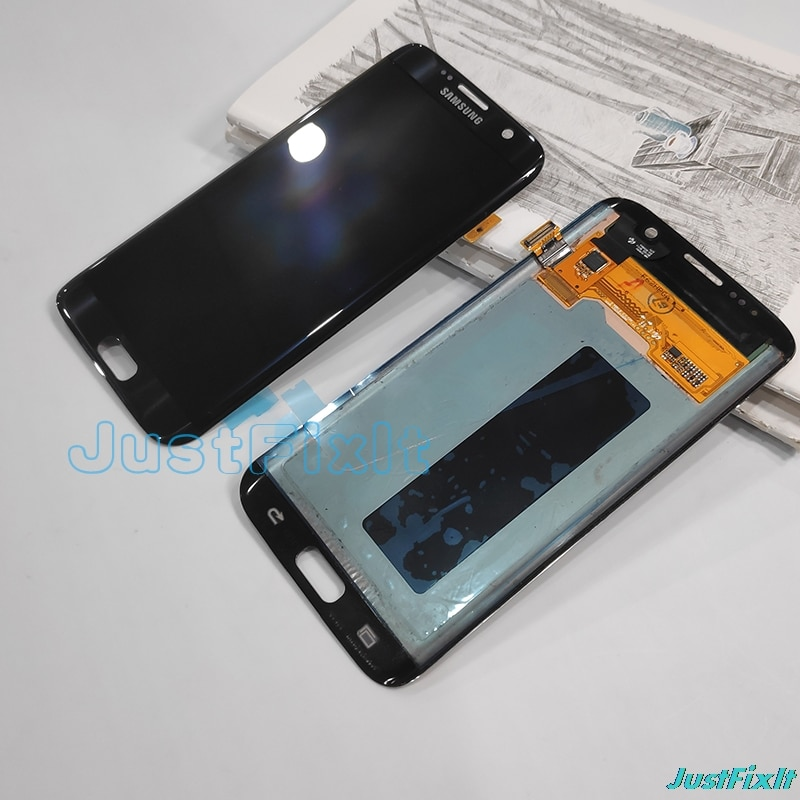 S7 Edge g935v para Samsung Galaxy S7 Edge g935a g935v g935F Burn-in pantalla Lcd digitalizador de pantalla táctil 5,5''