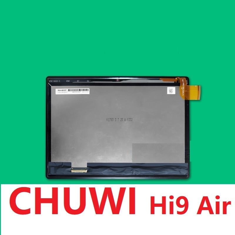 ¡Nuevo en Stock! Pantalla táctil LCD de 10,1 pulgadas para Chuwi Hi9 Air Touchscreen 2.5D Panel digitalizador de cristal HD pantalla 2560X1600 reemplazo