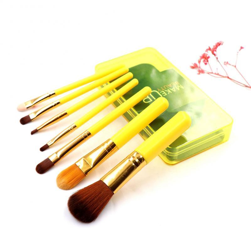 Profesional Natural de pinceles de maquillaje Set de polvo de base contorno ojos mezcla cepillos cosméticos de sombra de ojos de pinceles de maquillaje
