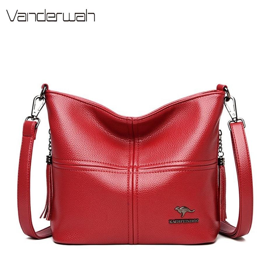 Luxury Handbags Women Tote Bag Designer Famous Brand Leather Tassel Shoulder Crossbody Bags Sac Ladies Casual Hand Bags Bolsas