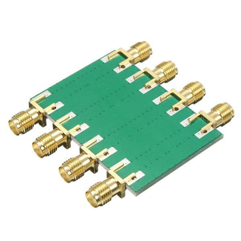 Gran oferta 200mW CC 4,0 GHz RF atenuador fijo SMA doble cabeza hembra 0dB 10dB 20dB 30dB