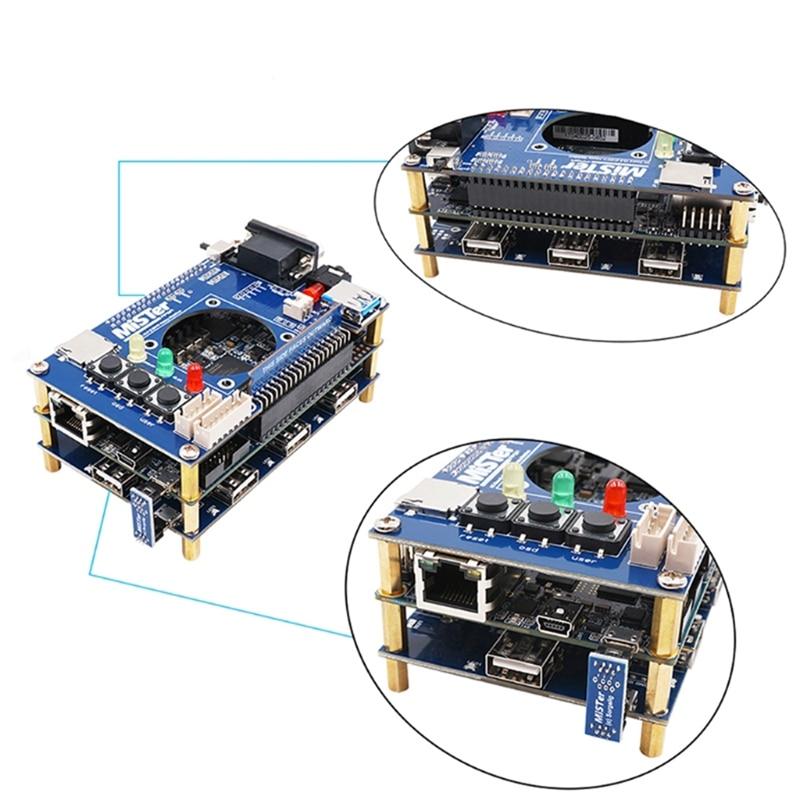 Welding USB HUB V2.1 Extender Board RTC Mister FPGA IO Board Set Accessories for Terasic DE10-Nano FPGA Board enlarge