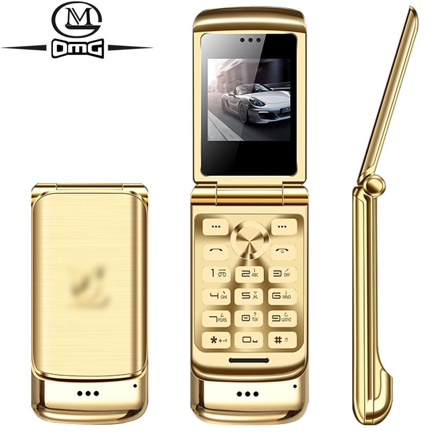 Metal case Small mini mobile phone Bluetooth dialer FM Radio Anti lost phones Unlock dual sim GSM cellphone