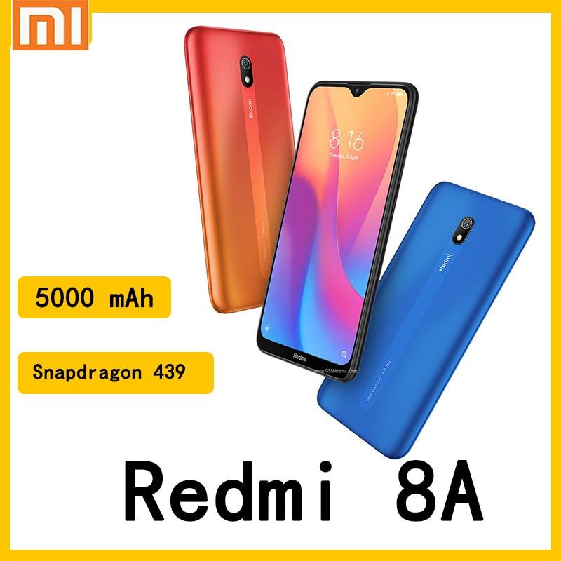 celular Xiaomi Redmi 8A smartphone 4GB 64GB 5000mAh Battery Snapdargon 439 12MP Camera Mobile Phone