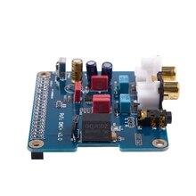 PIFI Digi DAC+ HIFI DAC Audio Sound Card Module I2S interface for Raspberry pi 3 2 Model B B+ Digital Audio Card Pinboard V2.0 B