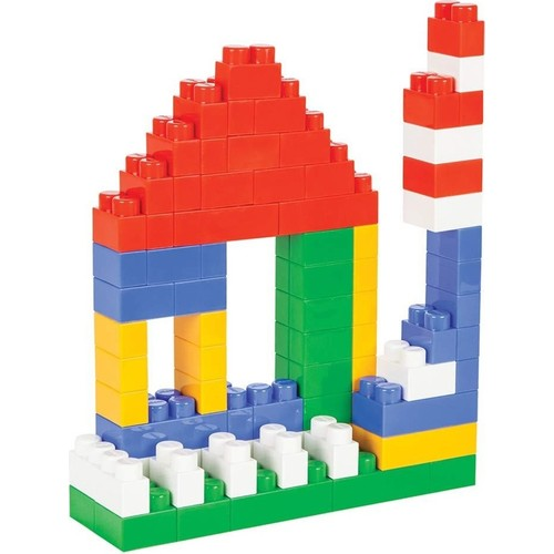 134 Piece Mega Bloks First Builders Big Building Blocks, Building Toys for Toddlers Learning Baby Stacking Ships From Turkey