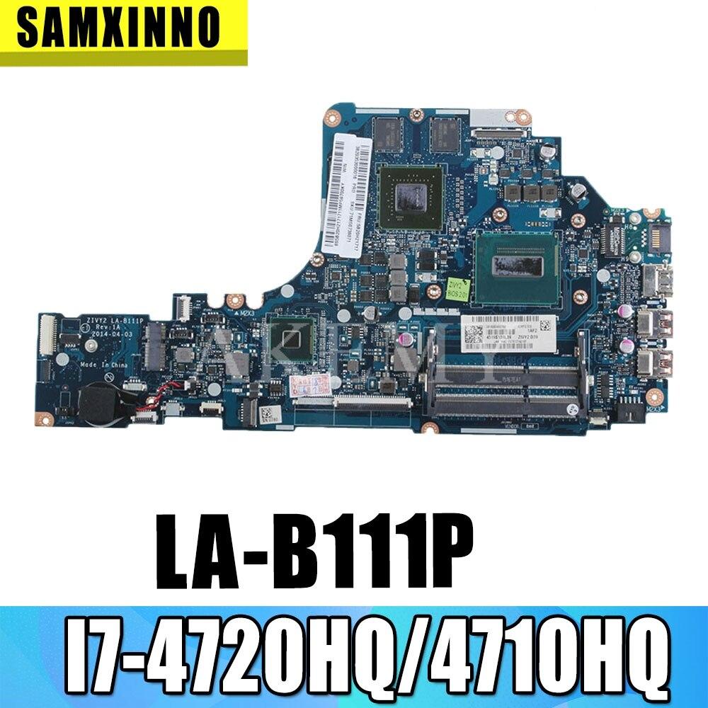 HD LA-B111P اللوحة الأم للكمبيوتر المحمول لينوفو Y50-70 اللوحة الأم I7-4720HQ الأصلي/4710HQ GTX960M-4G