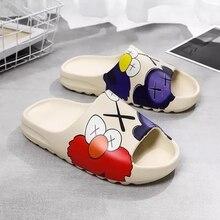 WEH 2020 luxury brand slippers, indoor slippers for men shoes home leisure beach slippers, EVA slipp