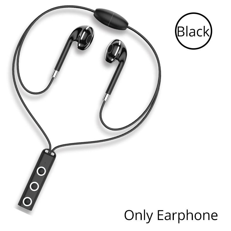 Hd estéreo atracción magnética auriculares Bluetooth deporte inalámbrico de música de banda para el cuello de auriculares de sonido de alta calidad jugador auriculares