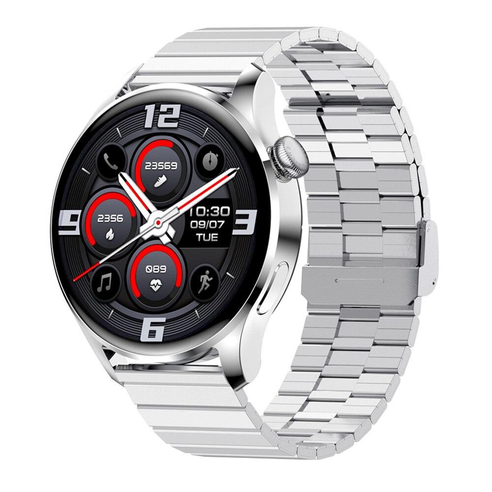 Smart Watch Men Bluetooth Call 390*390 HD Full Touch Rotate Crown Custom Dials Fitness Smartwatch Wa