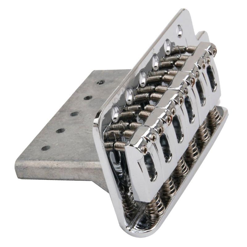 1 компл. 6 струн плоское седло один тремоло мост системы для электрогитары
