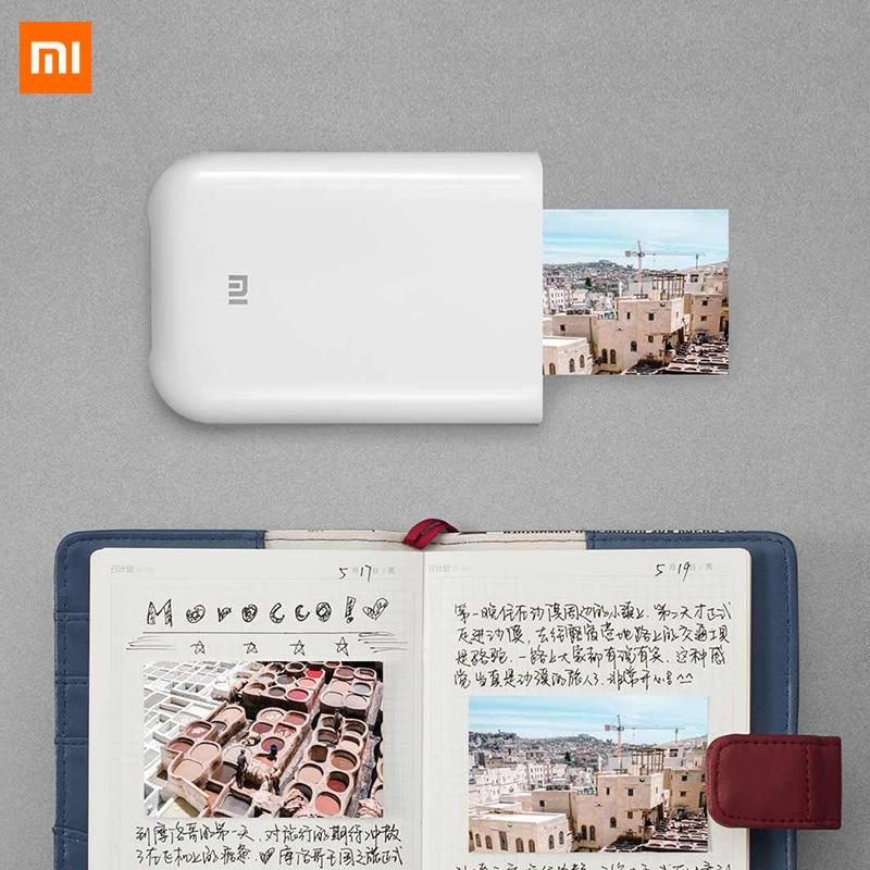 Xiaomi photo Printer 300dpi Portable Photo Mini Pocket With DIY Share 500mAh picture printer pocket printer work with mihome app