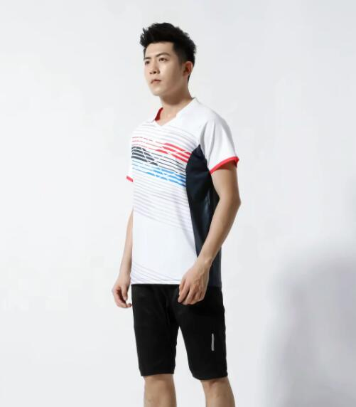 #112  2-piece set, short-sleeved shorts, printed pattern, stretch fabric, breathable and comfortable, suitable for summer an