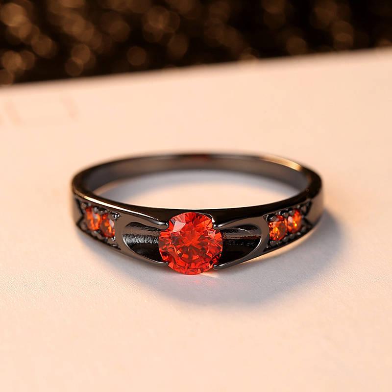 Anillo de Mujer Accesorios de joyería para dama regalo de aniversario encanto individualidad Color fiesta boda joyería diseño de moda anillo de circón