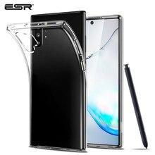 Coque ESR pour Samsung Galaxy Note 10 Note 10 + housse souple en TPU Transparent cristal clair étui pare-chocs pour Samsung Note 10 Plus 5G