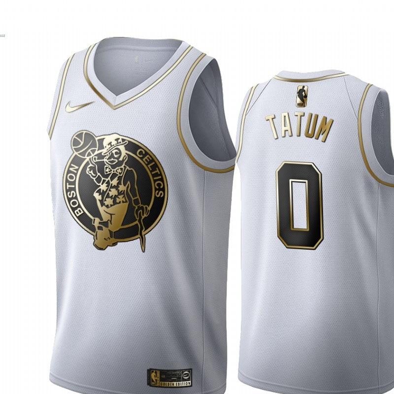 Camiseta de Baloncesto 0 Tatum NBA, Camiseta de Baloncesto de edición de...
