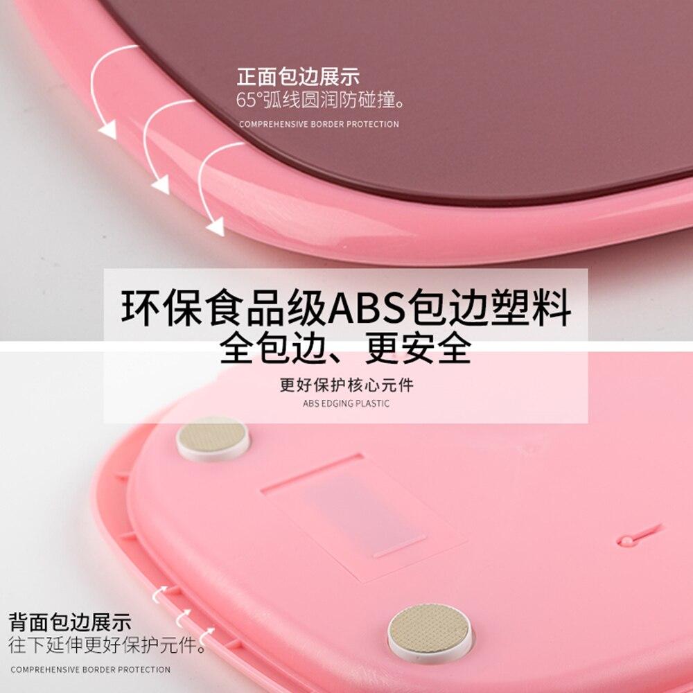 Body Fat Weight Scales White Smart Bathroom Bluetooth Small Scale Precision Electronic Bilancia Pesapersone Home Items DI50TZC enlarge