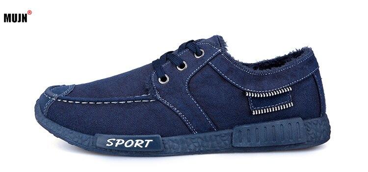 Zapatos informales de terciopelo para Hombre, Calzado informal cómodo, cálido, para invierno