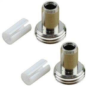 Wholesale 1/2/5 Pcs Fiber Optic Cable Tester Metal Head & Ceramic Sleeve For Visual Fault Locator